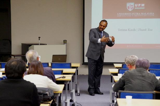 Prof. Gomes (Univ. of Putra, Malaysia)