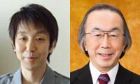 Prof. T. Nagai (left) and Prof. T. Nishino (right)