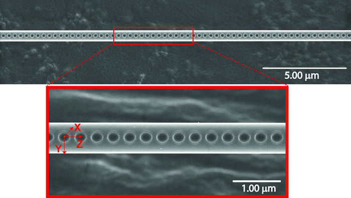 Nanophotonics: Integrating nanocavities into optical fibers with femtosecond laser ablation