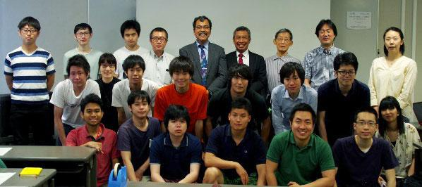 Researchers from Sebelas Maret University give lectures on thermo-fluid engineering at UEC, Tokyo.