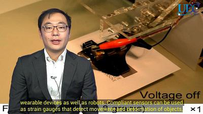 Jun Shintake, Assistant Professor, Department of Mechanical and Intelligent Systems Engineering