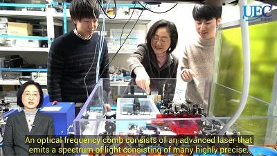 Kaoru Minoshima, Professor, Department of Engineering Science, Graduate School of Informatics and Engineering